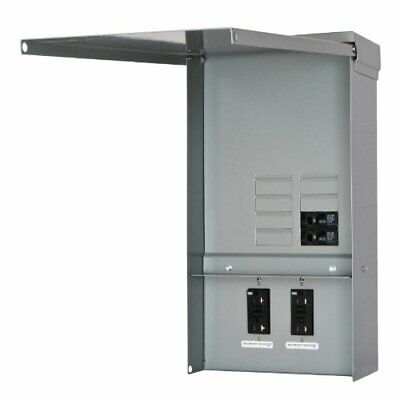 Siemens TL77US Talon Temporary Power Outlet Panel with Two 20-Amp Duplex Recepta