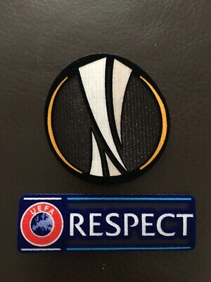 Uefa Europa League And Respect Badges Patches.
