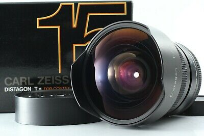 【N MINT BOXED】 Contax Carl Zeiss Distagon T* 15mm f/3.5 Lens For C/Y from JAPAN