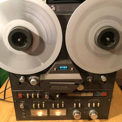 Working TASCAM 32 Reel to Reel 2 Track Tape Deck + RC-71 remote,adapters & Tapes