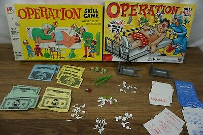 Operation board game replacement pieces [A2]