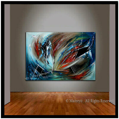 Prism Light - Large Abstract painting, Wall Art, Contemporary Art, Abstract Art