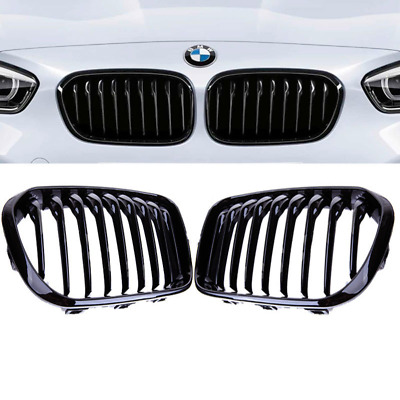 BMW F20 F21 LCI facelift 15> performance gloss black kidney front grille grilles