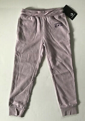 Converse Sparkle French Terry Joggers Girls Size 6X (6-7 Years) MSRP $40