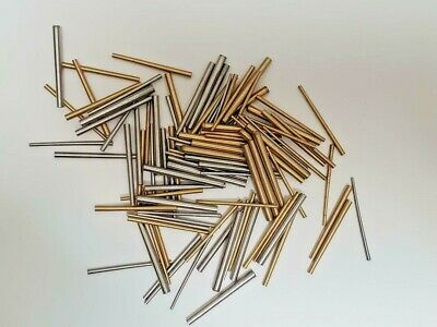 Taper Pins Brass and Steel Assorted Sizes Package of 100 Grandfather Wall Clock