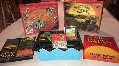 The Settlers of Catan (3061) Board Game 100% Complete Klaus Teuber
