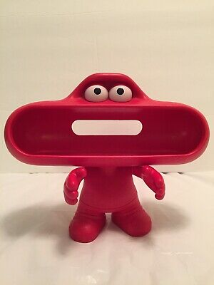 Beats Pills Red Dude Character Stand Holder Model B0528 By Dr Dre