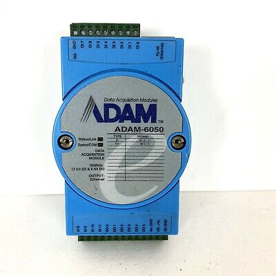 Advantech Data Acquisition Module ADAM-6050 9548 Used. Untested.