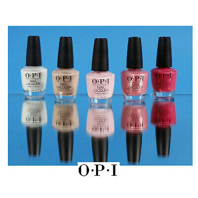 OPI Nail Polish Lacquer ASSORTED SHADES 3.75ml Mini - Free Shipping