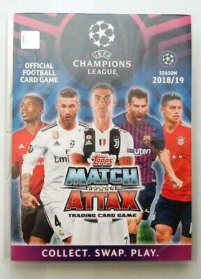 Topps Match Attax UEFA Champions League 2018 2019 - Complete Set 443 Cards