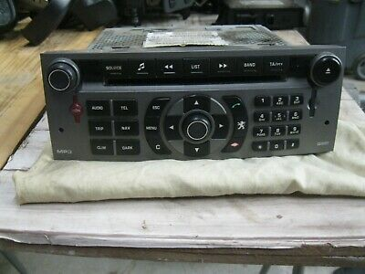 Radio CD MP3 Navi Tel.  96632912YW Peugeot 407 SW