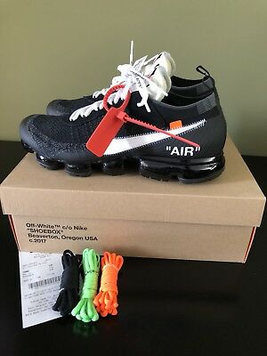 NIKE THE 10: Air Vapormax FK 10 X Off White US 10 UK 9 EUR