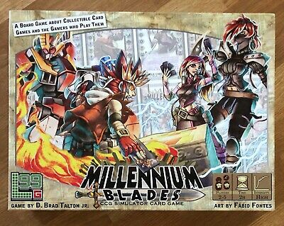 Millennium Blades CCG Simulator Card Game by Level 99 Games, Barely Used