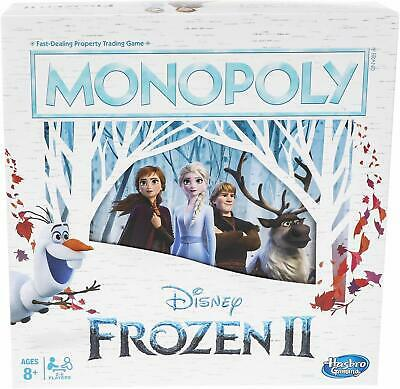 Monopoly Game: Disney Frozen 2 Edition Board Game for Ages 8 & Up, Brown/A