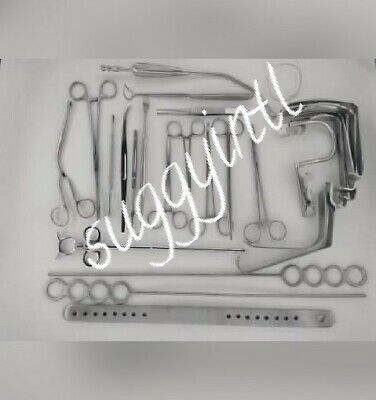 Surgical Tonsillectomy Set of 27 pieces Finest Surgical Instruments suggyin