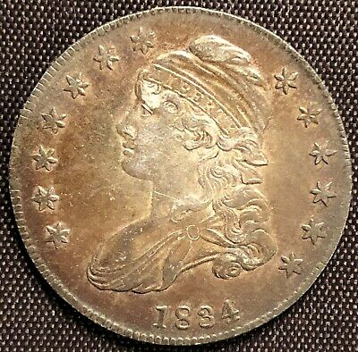 1834-P Capped Bust Half Dollar - Excellent Condition