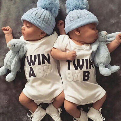 Newborn Baby Infant Boy Girl Romper Jumpsuit Bodysuit Outfits Clothes New