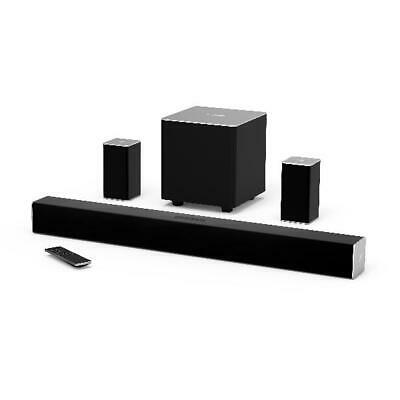 """VIZIO 32"""" 5.1 Channel Soundbar System with Wireless Subwoofer and Rear Speakers"""