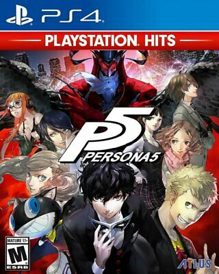 ATLUS Persona 5 PlayStation 4 PS4 GAME BRAND NEW FREE POSTAGE