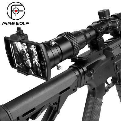 Fire Wolf Smartphone Mounting System Hunting Riflescope Shoot Mount Adapter for
