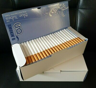 CLEARANCE 800 BLUE KING SIZE ROLLO TUBES Cigarrette Tobbacco Rolling Filter 15mm