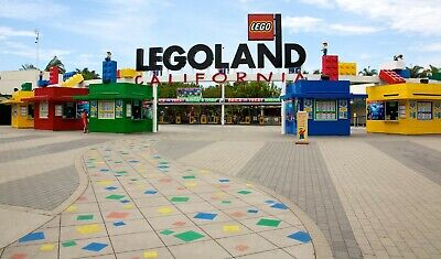 **$78.99 Each** Legoland California Resort Hopper + 2Nd Day Free Ticket Promo