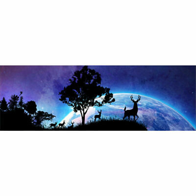 DIY Wandering Deers Large Full Drill 5D Diamond Painting Embroidery Pictures