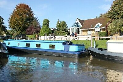 New 57 x 10 eurocruiser sailaway widebeam liveaboard boat nr London