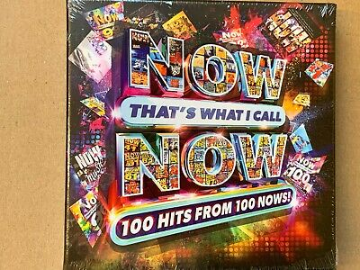 Now That's What I Call Now - 100 Hits - Various Artists CD New & Sealed WC1