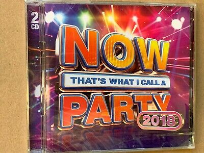 Now That's What I Call A Party 2018 - CD - New & Sealed - WC3