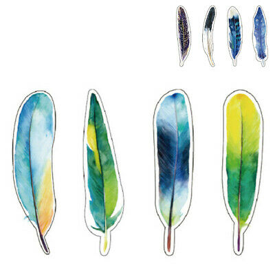 Pack Bookmark Animals Gift Feather Cute Colorful Cartoon 30 Pcs/lot Students