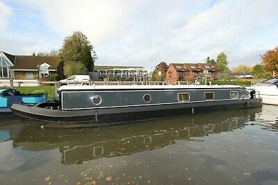 New 60 x 12ft painted widebeam sailaway liveaboard houseboat nr London