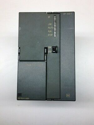 Siemens 6GK7343-1EX11-0XE0 ,Communications processor CP 343-1 for Simatic S7-300