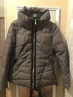Next Ladies Quilted Padded Coat Jacket 8