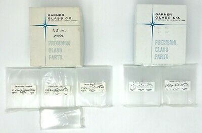 Glass Laboratory Stirring Rods in original opened boxes Garner Glass Co.