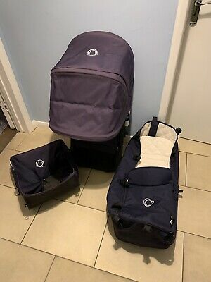 BUGABOO Cameleon 3 Fabric Included Seat Unit Frame In Navy Blue