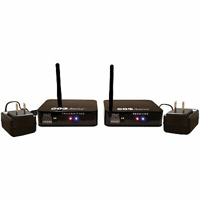 BIC America 4-Channel Wireless Audio Transmitter/Receiver System - WTR-SYS