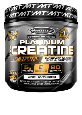 MuscleTech Creatine Monohydrate Powder, 100% Pure Micronized, Muscle Builder & R