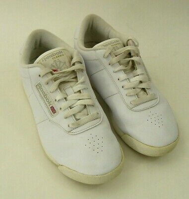 Reebok Classic Leather White Gum Sole Womens Shoes Fashion Sneakers Size 7.5 D