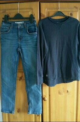 Boys Outfit Next Top and TU Jeans 9-10 Years