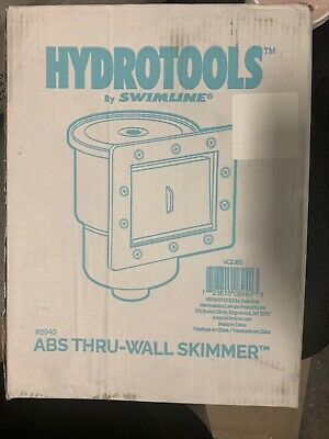 NEW Aboveground Swimming Pool Standard Replacement Thru-Wall Liner Skimmer