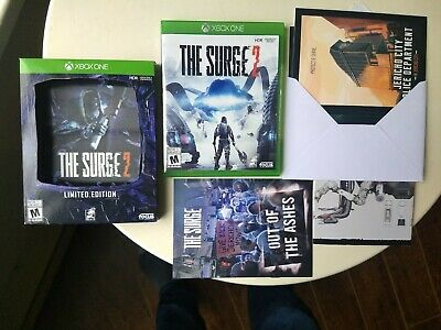 The Surge 2 Limited Collector's Edition (Microsoft Xbox One) Complete, Excellent