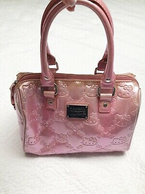 Hello Kitty Loungefly Bag Purse Tote Pearl Pink Hard to Find