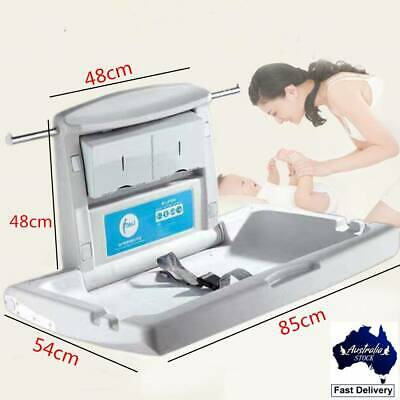 Horizontal Wall-Mounted Baby Change Station Table