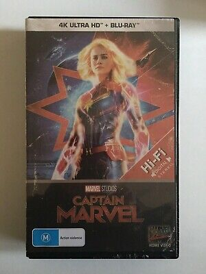 NEW Captain Marvel VHS Limited Edition Bluray Brie Larson Jackson Law Bening
