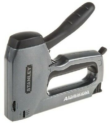 Stanley MANUAL NAIL GUN 6-14mm Built-In Front Wire Guide, Lockdown Handle