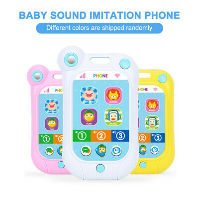 Baby Sound Imitation Phone with Lights Music Suoni divertenti Baby Stop S7T7