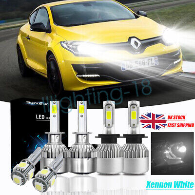 For Renault Clio MK3 H7 H1 H11 501 55w ICE Blue Xenon High//Low//Fog//Side Lights