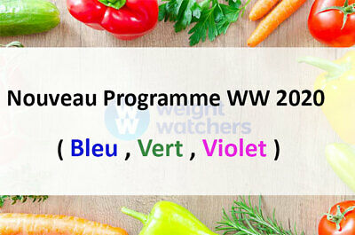 "weight watchers nouveau  programme 2020 "" plan vert"" +100 aliments à 0 points"