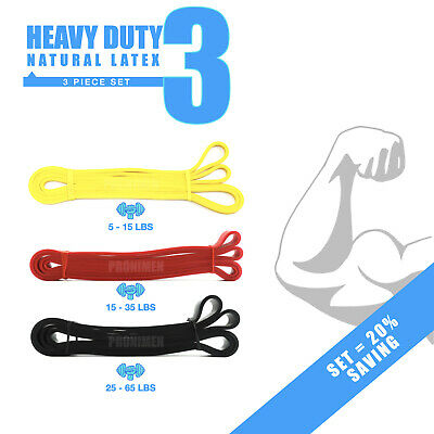 🇬🇧Resistance Bands Exercise Loop Crossfit Strength Weight Training Pull Up Ban